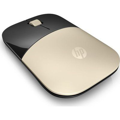 HP Z3700 Wireless Optical Mouse - Gold
