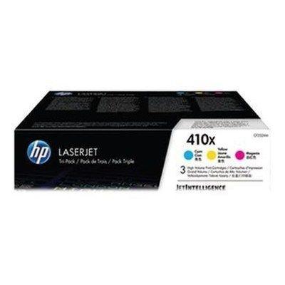 Hewlett Packard HP 410X LASERJET TONER CMY PACK 3
