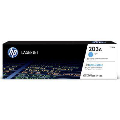 HP 203A Cyan Toner Cartridge, Cyan