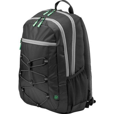 HP Active Backpack - Black / Green