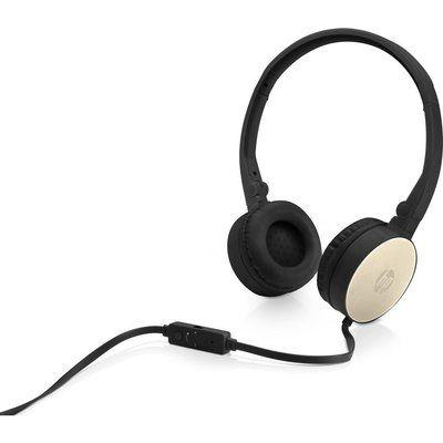 HP H2800 Stereo Headset - Black & Gold