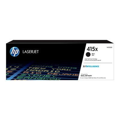 Hewlett Packard HP 415X Black High Yield Laserjet Toner Cartridge