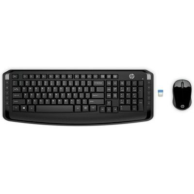 HP 300 Wireless Keyboard & Mouse Set