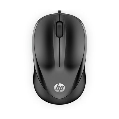HP 1000 Wired Mouse - Black