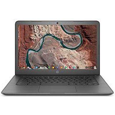 "HP Chromebook 14-DB0003NA A4-9120 Processor, 4GB RAM, 32GB EMMC, 14"" Laptop - Smoke Grey"
