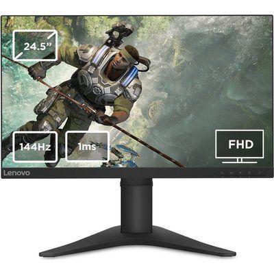 """Lenovo G25-10 Full HD 24.5"""" TN LCD Gaming Monitor - Black"""