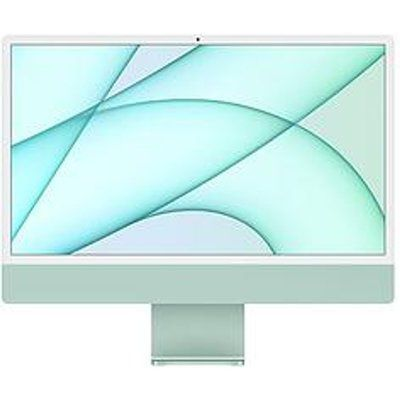 "Apple iMac 24"" With Retina 4.5K Display, 8-Core CPU And 8-Core GPU, 256GB Storage - Green"
