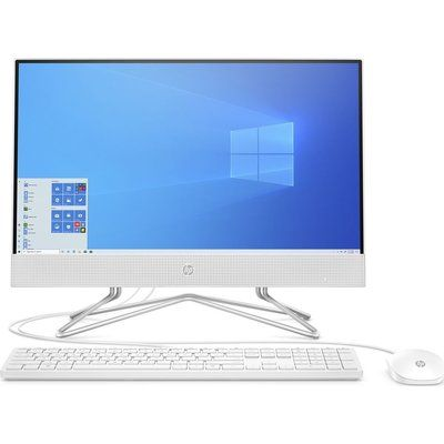 "HP 22-df0018na 21.5"" All-in-One PC - AMD Ryzen 3, 256 GB SSD"