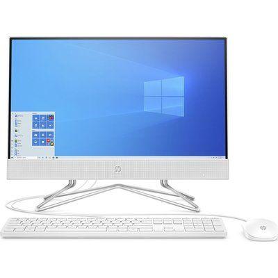 """HP 22-df0021na 21.5"""" All-in-One PC - AMD Athlon Silver, 128 GB SSD"""