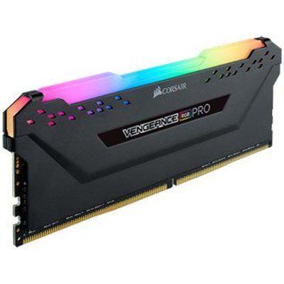 Corsair Vengeance RGB PRO Black 16GB 3600MHz AMD Ryzen Tuned DDR4 Memory