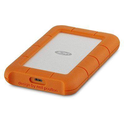 Seagate Lacie 2TB Rugged USB-C Portable Hard Drive