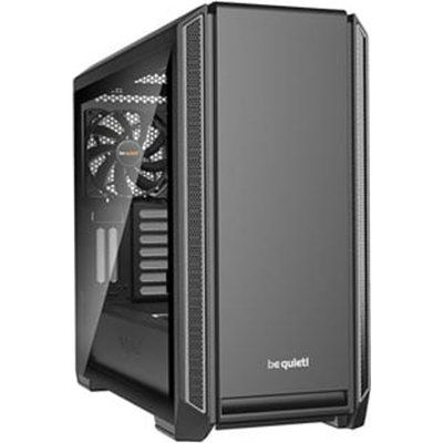 Be Quiet SILENT BASE 601 Silver Tempered Glass Midi PC Case