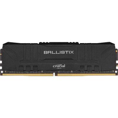 Crucial Ballistix 8GB DDR4-3600 Desktop Gaming Memory (Black)