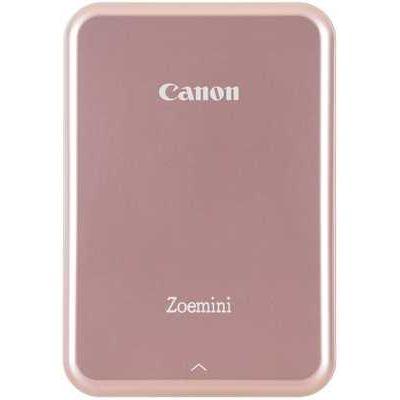 Canon Zoemini Slim Body Pocket-Sized Wireless Photo Printer - Rose Gold