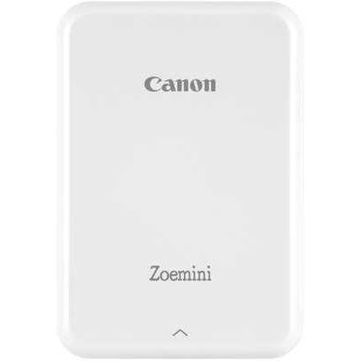Canon Zoemini Slim Body Pocket-Sized Wireless Photo Printer - White