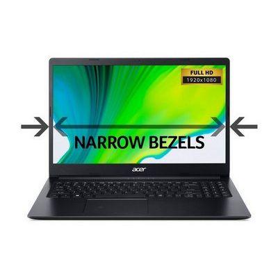 "Acer Aspire 3 15.6"" FHD A4 4GB 1TB Laptop - Black"