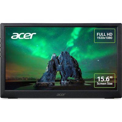 "Acer PM161Q Full HD 15.6"" IPS Portable Monitor - Black"