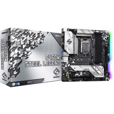 ASRock B460M Steel Legend Intel mATX Motherboard