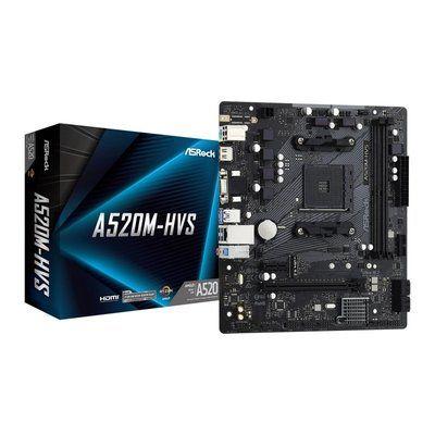 AsRock A520M HVS mATX Motherboard
