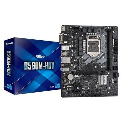 Asrock B560M-HDV mATX Motherboard