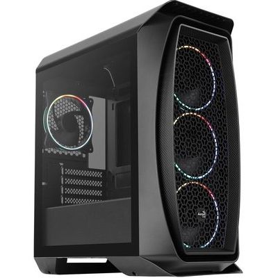 AeroCool Black Aero One Mini Eclipse Windowed PC Gaming Case