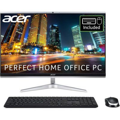 """Acer Aspire C24-1651 23.8"""" All-in-One PC - Intel Core i5, 1 TB HDD & 256 GB SSD"""