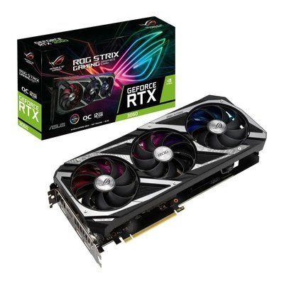 Asus GeForce RTX 3060 12 GB ROG Strix GAMING OC Edition Graphics Card