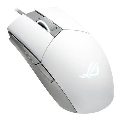 ASUS ROG Strix Impact II Ambidextrous Gaming Mouse in Moonlight White