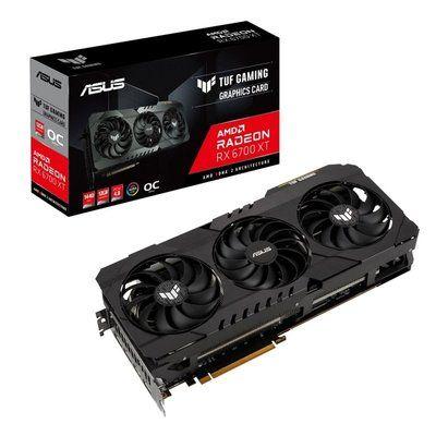 Asus Radeon Rx 6700 Xt Tuf Gaming Oc 12GB Graphics Card