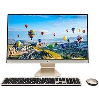 "Asus Vivo Aio V241EAK-BA149T Intel Core I7 8GB RAM 1TB HDD + 256GB SSD 24"" Full HD All In One Desktop PC"