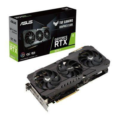 Asus GeForce Rtx 3070 Ti 8GB Oc Tuf Gaming Ampere Graphics Card