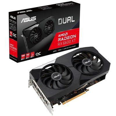 Asus Radeon Rx 6600 Xt 8GB Dual Oc Graphics Card