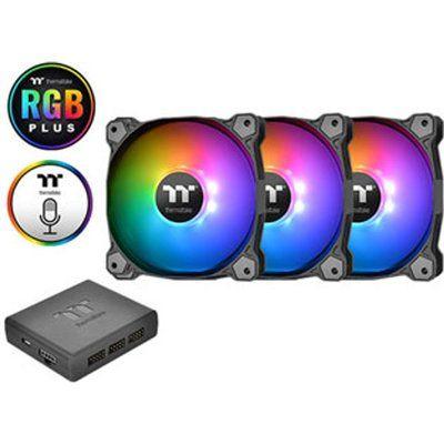 Thermaltake TT Premium Edition Pure Plus 120mm RGB Fan Triple Pack
