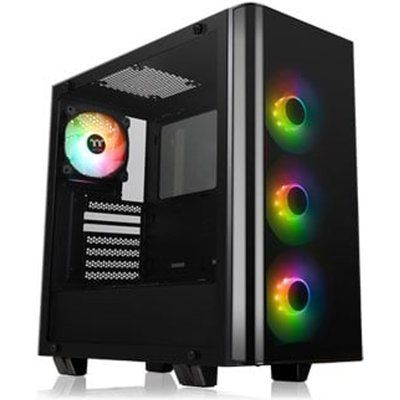 Thermaltake View 21 Tempered Glass RGB Plus Mid Tower PC Case