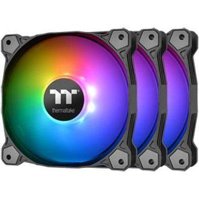 Thermaltake Pure 12 120mm ARGB Case Fans - 3 Pack