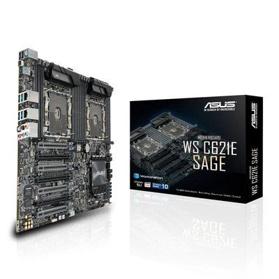 ASUS Dual Scalable Xeon WS C621E SAGE ATX Motherboard