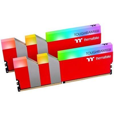 Thermaltake Toughram Rgb Racing Red 16GB (2x8GB) DDR4 3600MHz C18 Memory