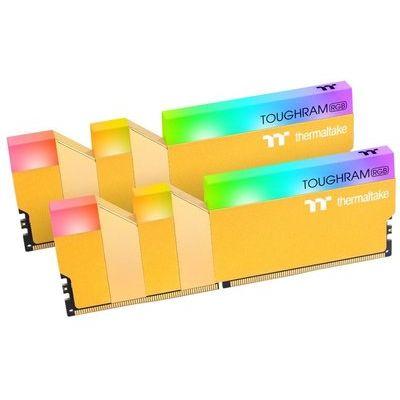 Thermaltake Toughram Rgb Metallic Gold 16GB (2x8GB) DDR4 3600MHz C18 M