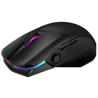 Asus ROG Chakram Ergonomic RGB Optical Qi Wireless Gaming Mouse
