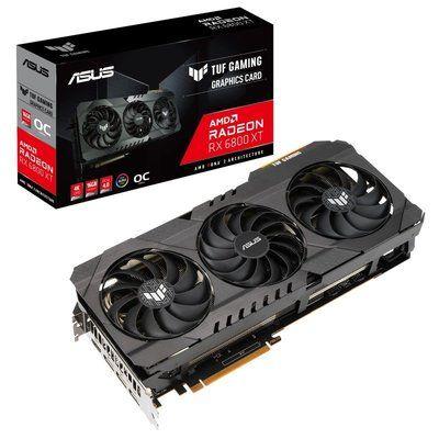Asus Radeon Rx 6800 Xt Tuf Gaming Oc 16GB Graphics Card