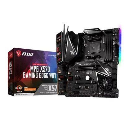 Msi Mpg X570 Gaming Edge Wifi AM4 DDR4 Atx Motherboard