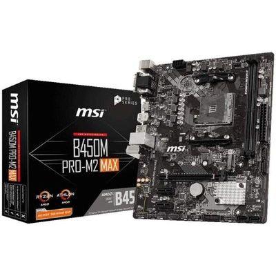 Msi B450M Pro-M2 Max AM4 DDR4 mATX Motherboard