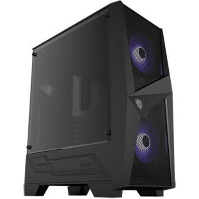 MSI MAG FORGE 100M Mid Tower Windowed PC Gaming Case