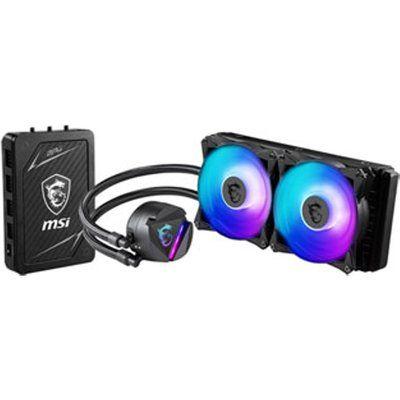 MSI MAG 240mm CoreLiquid 240RH ARGB Intel/AMD CPU Liquid Cooler & Hub