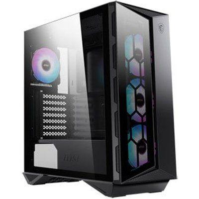 MSI MPG GUNGNIR 110R Black Mid Tower Tempered Glass PC Gaming Case