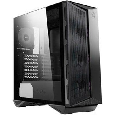 MSI MPG GUNGNIR 110M Black Mid Tower Tempered Glass PC Gaming Case