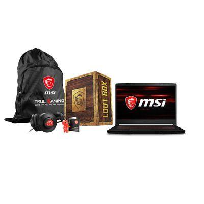 MSI GF63 Thin 9SCSR-1069UK Core i5-9300H 8GB 256GB SSD 15.6 Inch GeForce GTX 1650Ti Windows 10 Gaming Laptop