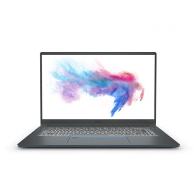 "MSI Prestige 15 A11SCX-263UK Core i7-1185G7 16GB 512GB SSD 15.6"" FHD GeForce GTX 1650 Windows 10 Gaming Laptop"