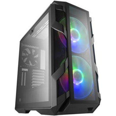 Cooler Master CoolerMaster MasterCase H500M Full Tempered Glass RGB PC Gaming Case