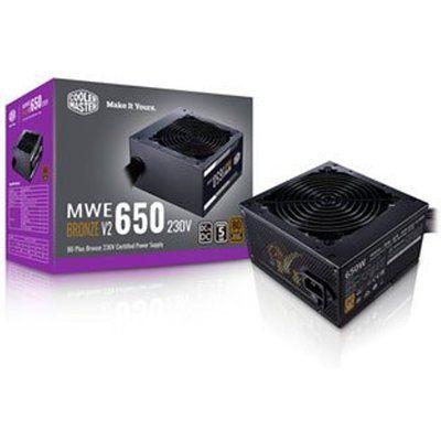 Cooler Master MWE Bronze 650 V2 230v PSU / Power Supply